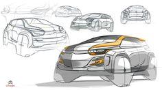 https://www.behance.net/gallery/26219263/Citroen-mini-SUV-concept-sketch