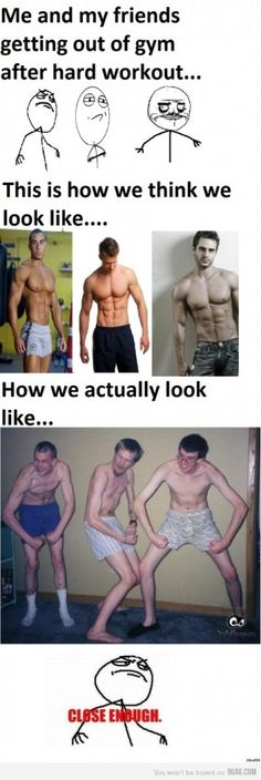 Expectations vs. Reality: totally how i feel after bombshell fitness