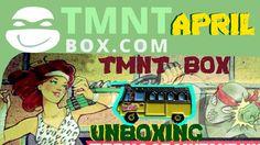 TMNT BOX Unboxing - April 2017 Ninja Turtles Subscription Box