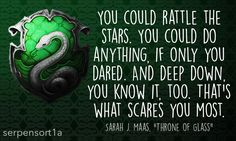 """background by: rafireomatic """"You could rattle the stars. You could do anything, if only you dared. And deep down, you know it, too. That's what scares you most. Sarah J. Maas, Throne of Glass """""""