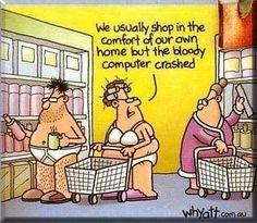 christmas humor | Christmas Shopping Humor.