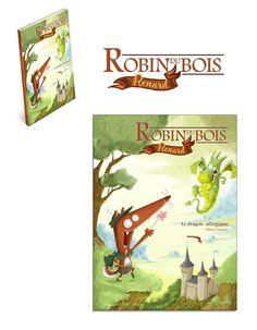 Robin, Dragon, Graphics, Illustrations, Fictional Characters, Art, Fox, Art Background, Graphic Design