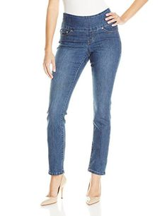 Jag Jeans Women's Malia Pull On Slim Leg Jean ** LEARN MORE @ http://www.cjbless.com/clothing/jag-jeans-womens-malia-pull-on-slim-leg-jean/?a=0147