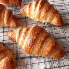 Homemade Fresh Baked Croissants Recipes