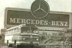 Ônibus da empresa Mercedes-Benz, carro xxx, carroceria Mercedes-Benz Monobloco O-321, chassi Mercedes-Benz O-321. Foto na cidade de São Bernardo do Campo-SP por Acervo Mercedes-Benz, publicada em 11/07/2013 17:34:01.