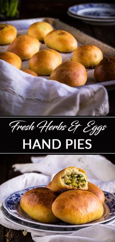 In this post, you will learn how to make authentic Ukrainian piroshki recipe. In English- fresh herbs, egg and rice vegetarian hand pies. Piroshki, pirozhki, pyrizhky are both sweet and savory hand pies made from yeasted dough and are an essential part of Tart Recipes, Gourmet Recipes, Vegetarian Recipes, Healthy Recipes, Ukrainian Recipes, Russian Recipes, Pirozhki Recipe, Piroshki Dough Recipe, Russian Dishes