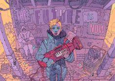 Random Ghost.The Future Is Now by Josan Gonzalez