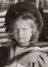 Grand duchess Tatiana Nikolaevna Romanov, 1902.