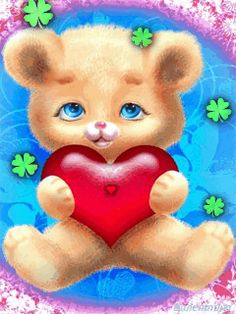 I Love You Pictures, Love You Gif, Beautiful Love Pictures, Love You Images, Animated Smiley Faces, Animated Heart, Animated Love Images, Bear Images, Teddy Bear Pictures