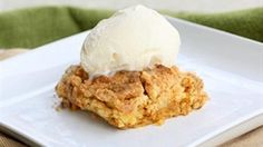 Dump cake ... not the most eloquent name for a dessert, but it's A-MAZ-ING! And this one tastes like fall on a plate.