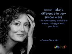 Happy Birthday, Susan! Susan Sarandon has worked in movies and television since 1969, and won an Academy Award for Best Actress for her performance in the 1995 film Dead Man Walking. She is noted for her social and political activism for a variety of liberal causes.