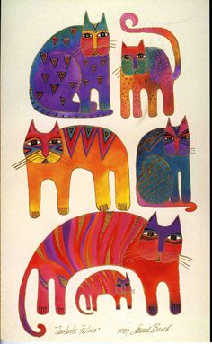 I ♥ Laurel Burch Art