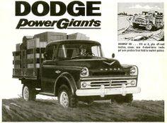 1957 Dodge Truck Ad.