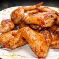 Alitas de Pollo al Horno con Salsa BBQ Casera