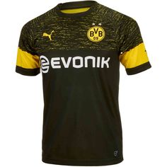 daf38e7fe Buy the 2018 19 Puma Borussia Dortmund Away Jersey from soccerpro.com right  now