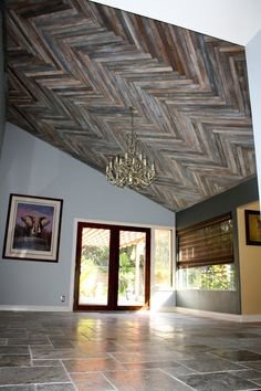 1000+ images about Reclaimed Wood Ceiling on Pinterest ...
