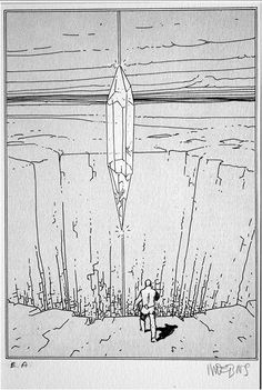 Pau (Limited Edition Print) (Signed) by Moebius (Jean Giraud) at The Illustration Art Gallery