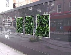 Scotscape Living Hoardings Add Life to Goodman's Fields