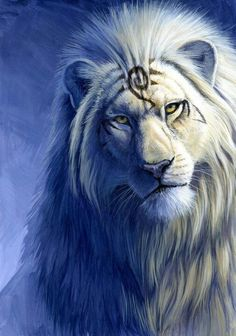 Lion, as proud and handsome, as any of the mystical beasts in this fairytale…