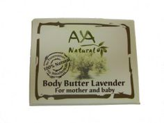 AYA Natural Body Butter Lavender 50m l/ 1.7 oz (Mother & Baby) | Yardenit.com  Massage into skin until absorbed. Not recommended for gluten sensitive people.Contains shea butter, cocoa butter, jojoba oil, olive oil, beeswax, coconut oil, apricot kernel oil, wheat germ oil, sweet almond oil, tocopheral (vitamin E) and lavender oil