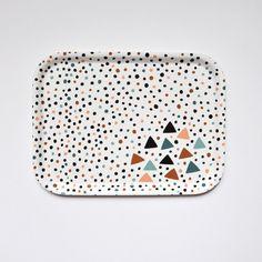 Confettis tray by oelwein on Etsy, €26.00