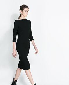 ZARA - WOMAN - FUNNEL COLLAR DRESS