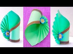 How to Make A Flower Vase At Home | Simple Paper Craft | Making Paper Flower Vase | Paper Crafts - YouTube
