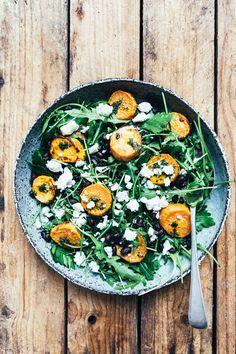 Salat. De søde kartofler er en skøn ingrediens i en lun salat. - Foto: Ditte Ingemann
