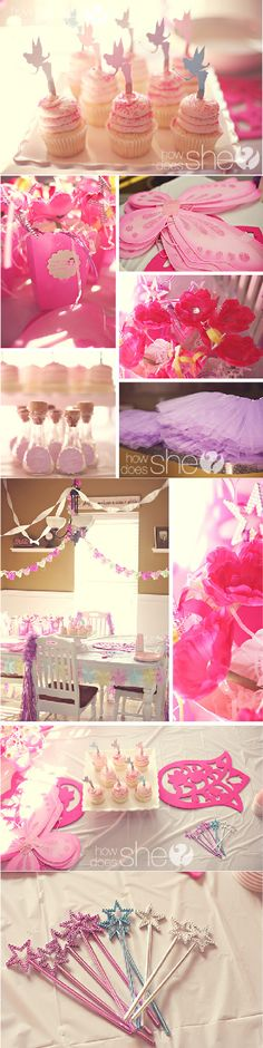 Fairy Party Ideas- a precious little girl party! This site has GREAT printables for all occasions!! Check it out: http://www.accenttheparty.com/party-blog?category=24#