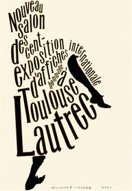 Poster created by designers as an homage to the artist Henri de Toulouse-Lautrec on the anniversary of his death. Design by Paula Scher. Paula Scher, Typography Letters, Typography Poster, Typography Design, Typo Design, Print Design, Poesia Visual, Henri De Toulouse Lautrec, Typo Logo