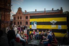 Outdoors Event in Centrum Praskie Koneser (Warsaw Vodka Distillery). The Night of Praga.