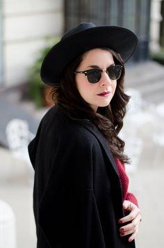 bloggers argentina Black Outfits, Sunglasses, Style, Fashion, Argentina, All Black Clothing, Swag, Moda, Fashion Styles