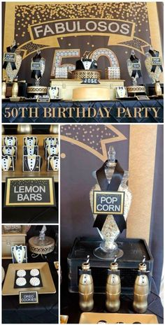 50 Birthday, 50th Birthday Gifts, Birthday Parties, 50th Birthday Party Decorations, 50th Party, Roaring 20s Party, Mustache Party, Milestone Birthdays, Party Games