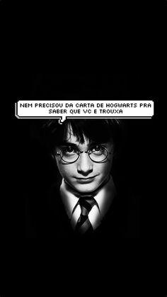 Wallpaper balãozinho Harry Potter