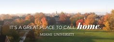 Miami University will always be home. #MiamiOH