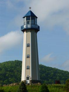 Sherman Memorial #Lighthouse - Tionesta, #PA http://dennisharper.lnf.com/