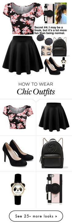 """""""#4"""" by parrypie7 on Polyvore featuring Gucci and Kate Spade"""
