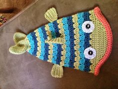 Crochet Fish Hat www.facebook.com/MyYarnCreations