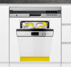 Decorate your dishwasher with this original stickers! #dishwasher #decoration #stickers