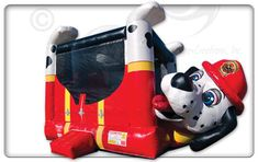 Fire Dog Belly Bouncer