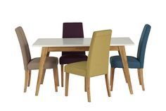 Rumini Dining Set with Hanbury Mixed Seating