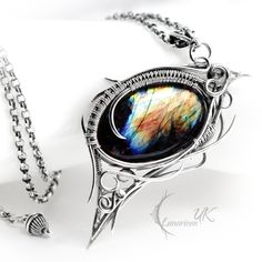 MIGNHAR - silver and labradorite. by LUNARIEEN.deviantart.com on @deviantART