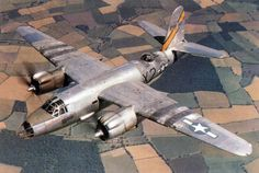retrowar: Martin B-26 Marauder in Invasion Stripes