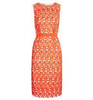 Orange Keeley Dress   Occasion Dresses   Dresses   Hobbs