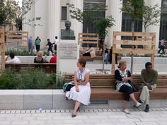 Place Lazare Goujon by In Situ