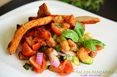Salata Panzanella cu pui marinat - Retete culinare by Teo's Kitchen