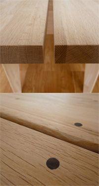 パラレルテーブル 空間に合わせてデザインした全長3mのダイニングテーブル 細部