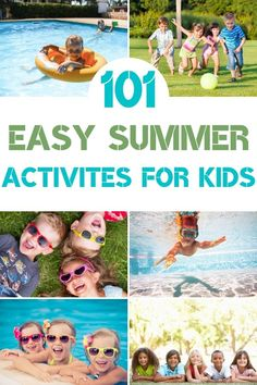 Need something for your kids to do this summer? Here are over 100 summer activities for kids of all ages that will help keep your kids busy and active! Summer Fun For Kids, Summer Activities For Kids, Frugal Family, Family Kids, Business For Kids, Kitchen Recipes, Little Ones, Parenting, Education