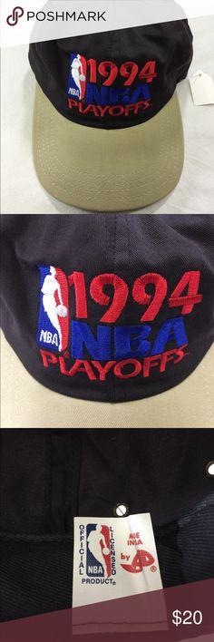 NBA 1994 Playoffs Denver Nuggets Men's Adjustable NBA 1994 Playoffs Denver Nuggets Men's Adjustable Hat Tan & Brown NBA Accessories Hats