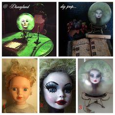 DIY Haunted Mansion & Nightmare Before Christmas Halloween Props